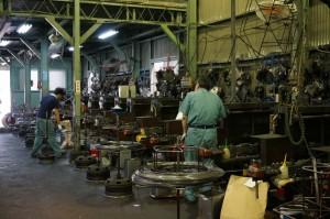 第二工場現場